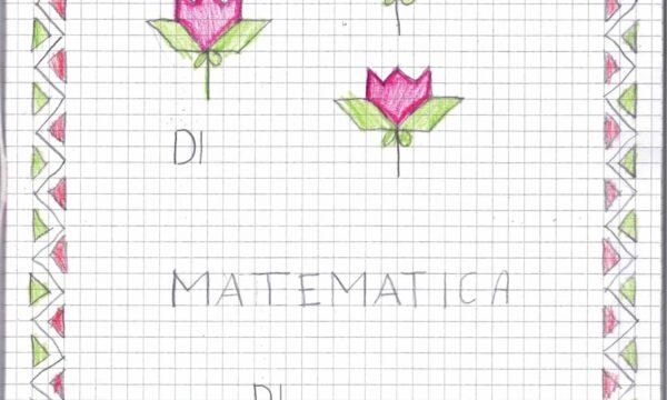 Quaderno di matematica classe seconda 2019-2020